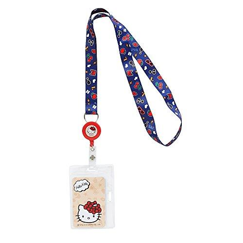 (Hello Kitty Key Leash Badge Holder: Ribbons & Bows)