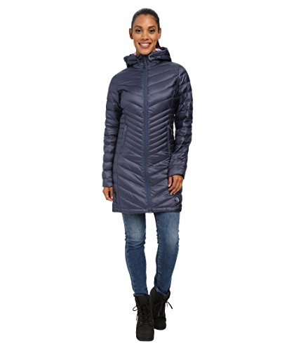Mountain Hardwear Women's Nitrous Hooded Down Parka, Zinc XL