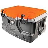 Klein Tools 55650 Cooler Tough Box, 48 Quart Tradesman Pro Jobsite Ice Chest