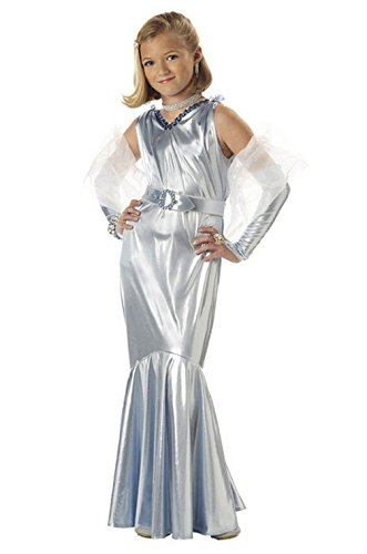 Mememall Fashion Glamorous Hollywood Movie Star Girl Child Costume (Glamorous Hollywood Costumes)