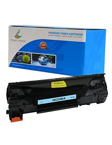 True Image HECE285A Cartucho de tóner de repuesto compatibles para HP CE285A (Negro, 1 paquete)