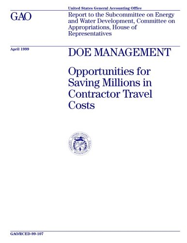 DOE Management: Opportunities for Saving Millions in Contractor Travel Costs