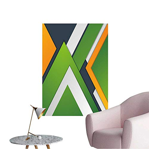 Wall Stickers for Living Room Colorful Abstract Corporate Material Graphic Design Vector Template Corporate Vinyl Wall Stickers Print,16