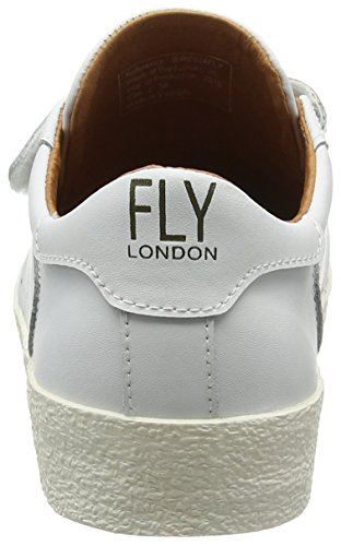 White London Sneakers Low Bire824fly Women's Fly White 000 Top xwq4PYwXd