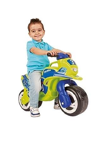 Juguettos Moto Flames Verde