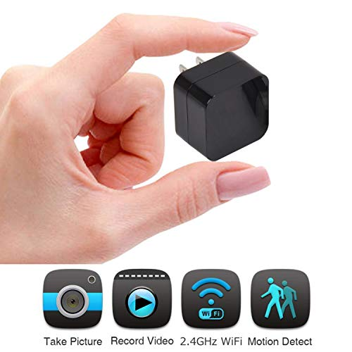 Hidden Security Camera System Wireless Hidden Camera & Spy Camera - Video Camera - WiFi Camera and Nanny Cam - Security Cameras and Surveillance Camera by Insta-Lurk