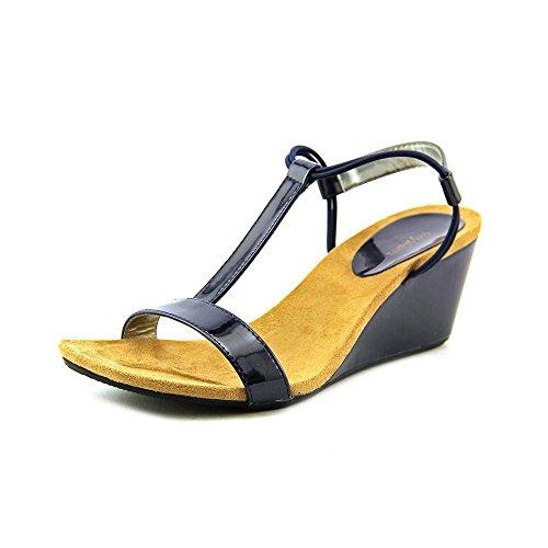Style & Co Mulan Women US 5.5 Blue Wedge Sandal (Mulan Blue Dress)