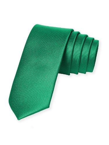 Men's Custom Matte Satin Skinny Ties by Dessy - PANTONE ()