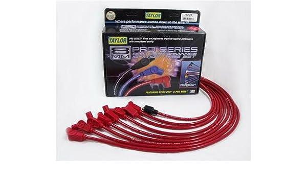 TAYLOR CABLE 74203 8mm Red Resistor - Juego de Cables para bujías: Amazon.es: Bricolaje y herramientas