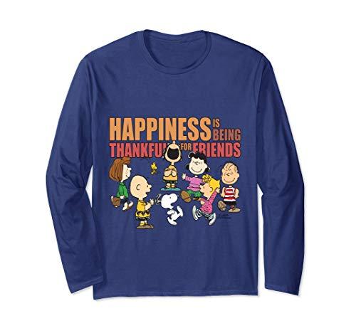 Peanuts Happiness is Thankful Friends