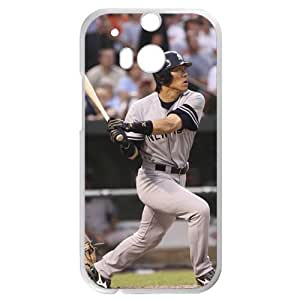 MLB&HTC One M8 White New York Yankees Gift Holiday Christmas Gifts cell phone cases clear phone cases protectivefashion cell phone cases HABC605585054