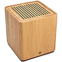Glovion Portable Bamboo Bluetooth Speaker