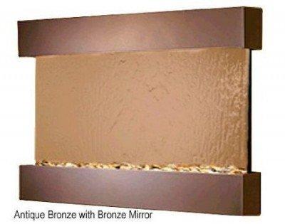 Waterfall Wall RCS3541 - Antique Bronze-Bronze Mirror - Adagio Reflection Creek