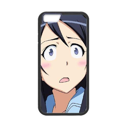 Ayase Aragaki Oreimo coque iPhone 6 4.7 Inch Housse téléphone Noir de couverture de cas coque EBDOBCKCO11372