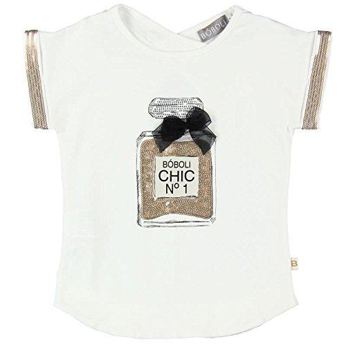 boboli, 721055 - Camiseta Punto Elástico, color blanco quimico ...