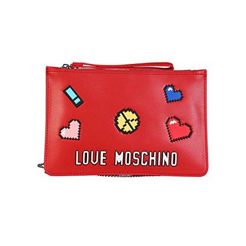 Rouge Love Pochette Love Moschino Pochette Rouge Femme Moschino Rouge Pochette Femme Femme 4Oxgn8Xwq
