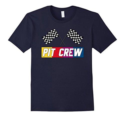 Race Day T-shirt (Mens Pit Crew T Shirt for Hosting Race Car Parties Parents Pit 2XL Navy)