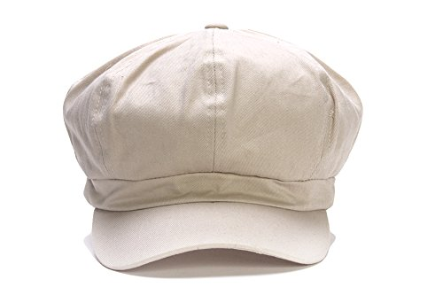 Cotton Elastic Newsboy Cap...