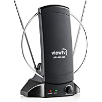 ViewTV AR-468AW 70 Mile Indoor Standing Amplified Digital TV Antenna - Adjustable Gain