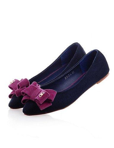 Red us5 Rojo Azul Uk6 Yyz Eu36 Mujer Zapatos De puntiagudos planos semicuero Cn35 Plano 5 Blue Cn39 Zq Uk3 5 negro us8 casual Eu39 tac¨®n O7PaHqPw