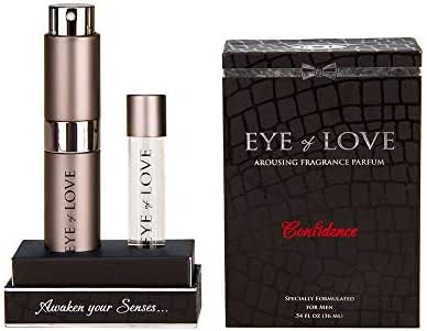 Eye of Love - Confidence Deluxe Pheromone Cologne - 2 Bottles Pack- Cologne Spray to Attract Women - Bold - 16ml