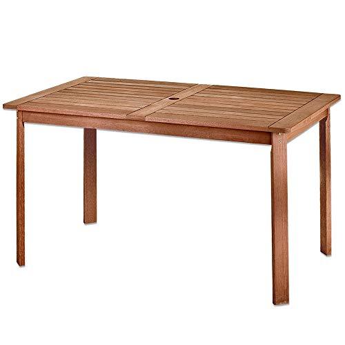 Mesa de Comedor para jardin de Madera marron Garden - LOLAh