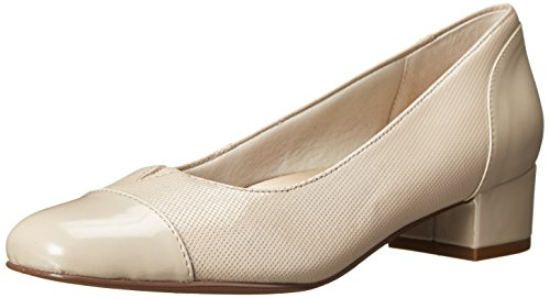 Pictures of Trotters Women's Danelle Nude Embossed 9.5 M US 1