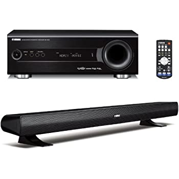 yamaha yht s400bl home theater system. Black Bedroom Furniture Sets. Home Design Ideas