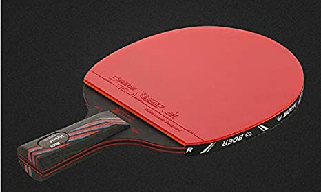 Amazon.com: Negro Carbon King 9,8 Pro Raqueta de tenis de ...