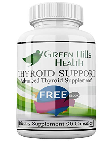 Clinical Strength Thyroid Supplements,Boost Energy,Weight Loss, Improve Focus Vegan Friendly. High Potency Vitamins, Minerals and Herbs for Under-Active Thyroid. Best Thyroid Support Complex