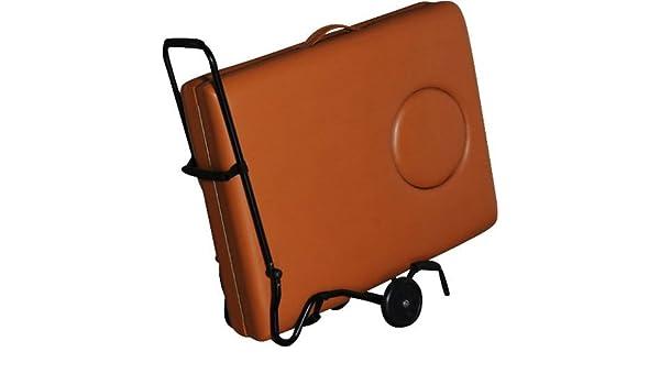 Carrito de transporte para dispositivos móviles para camilla de masajes: Amazon.es: Salud y cuidado personal