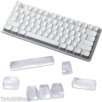tradeshoptraesio® - Forma para hielo teclado Computer 73 cubitos ...