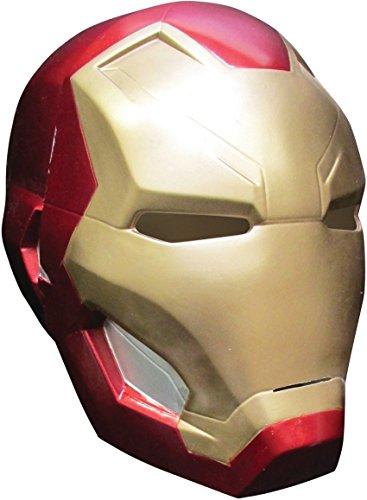 Iron Man Costume 2016 (Rubie's Costume Co. Men's Captain America: Civil War Iron Man 2-Piece Mask, Multi, One Size)