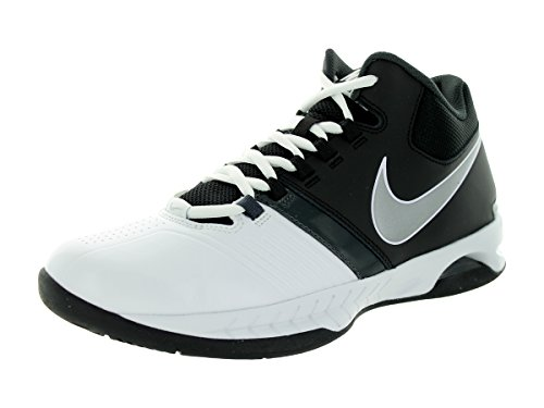 Nike Men's Air Visi Pro V NBK Basketball Shoes White/Black/Anthracite/Metallic Silver pay with paypal cheap price SG3Wn