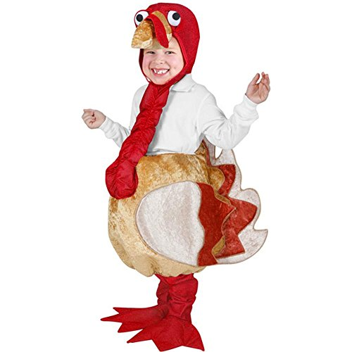 [Child's Turkey Costume (Size: Small 4-6)] (Women Turkey Costume)