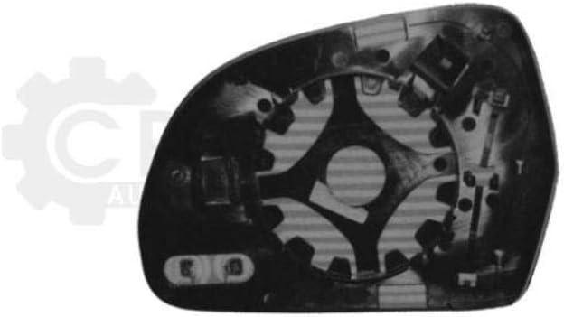 BJ 8K 07-11 beheizbar asph/ärisch Au/ßenspiegelglas links f/ür A4