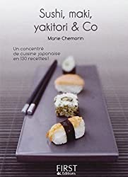 Petit livre de - Sushi, maki, yakitori, bento and co
