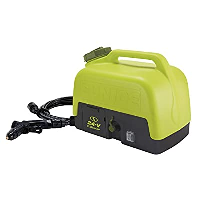 Sun Joe WA24C-LTE 24-Volt Amp 5-Gallon Electric Pressure Washer, Kit (w/2.0-Ah Battery + Quick Charger)