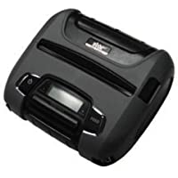 Star Micronics 39631611 Model SM-T400I-DB50 Portable Thermal Rugged Mobile Printer, Tear Bar, MFI Certified, Bluetooth, Without MSR, Power Supply, 4 Size, Gray