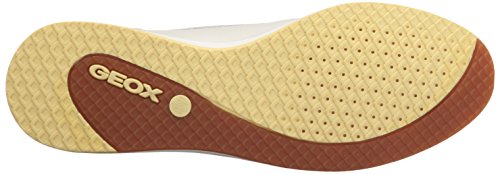 Geox Dames D Avery Penny Loafer Wit / Off White