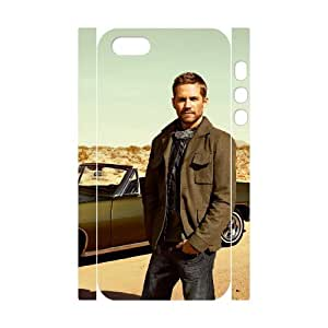 TOSOUL Paul Walker 2 Phone 3D Case For iPhone 5,5S [Pattern-5]