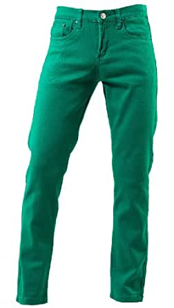 TNM Men's Super Skinny Jeans 24 Green