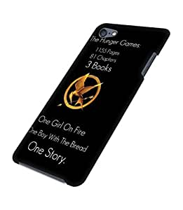 The Hunger Games 3D Phone Hülle / Funda Case For iPod touch 5th Hard Plastic Protection TV Show Creative Pattern Printed Customized DIY Hülle / Funda Case Hot - Black