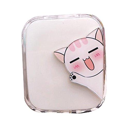 Travel Portable Contact Lens Case Cute Eye Care Container Holder Box #03 (Cheap Coloured Contact Lenses)