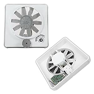 NEW HENGS VORTEX II WHITE VARIABLE MULTI SPEED 12V 12 VOLT RV CAMPER MOTORHOME CEILING VENT FAN REPLACEMENT UPGRADE KIT MODEL 90046-CR
