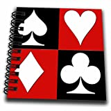 3dRose Poker. Four of a kind. Aces. Popular image. Best seller. - Mini Notepad, 4 by 4-inch (db_218680_3)