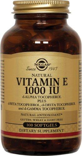 Solgar Vitamine E 1000 UI mixte 100SG [Santé et Beauté]