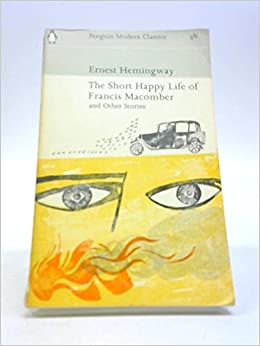 short happy life of francis macomber full text