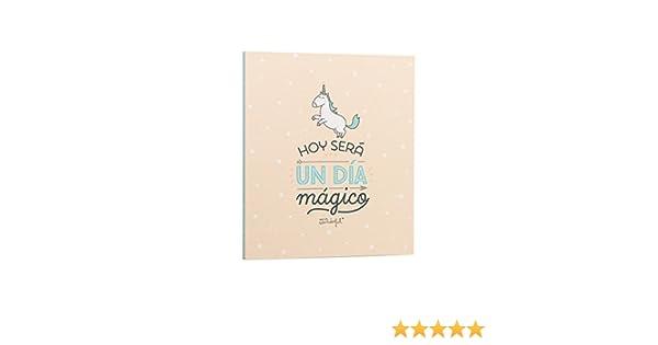 Mr. Wonderful WOA03706ES - Clasificador, diseño Hoy será un día mágico: Amazon.es: Oficina y papelería