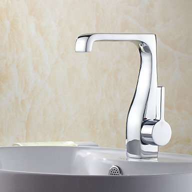 HMer Single Handle Chrome Centerset Sink tap(1018-LK-8034)